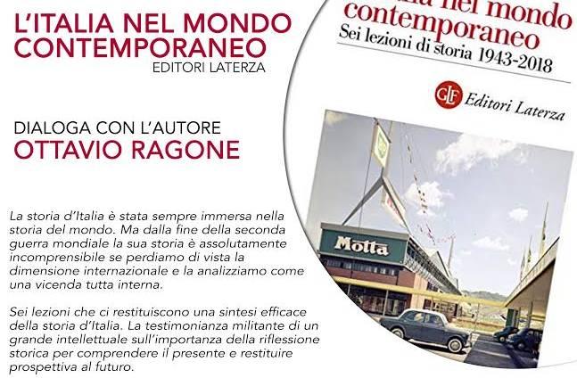 Francesco Barbagallo presenta L'Italia nel mondo contemporaneo