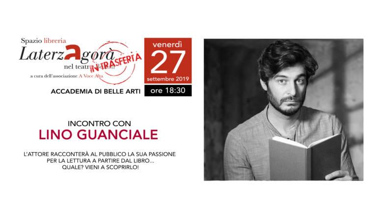 Lino Guanciale all'Accademia di Belle Arti di Napoli