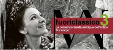 Filippo Ceccarelli al Mann per Fuoriclassico3