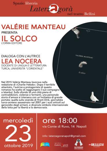 Valérie Manteau presenta Il Solco a Laterzagorà