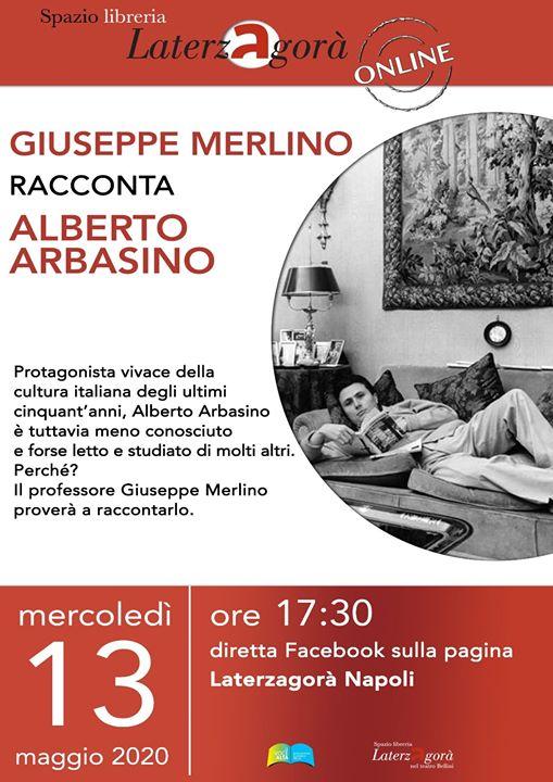 In ricordo di Alberto Arbasino a #Laterzagoràlive con Giuseppe Merlino.