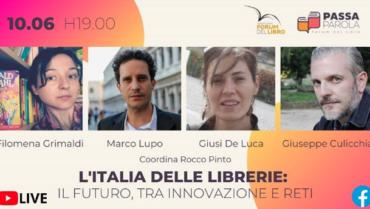 L'Italia delle librerie oggi al Forum del libro.