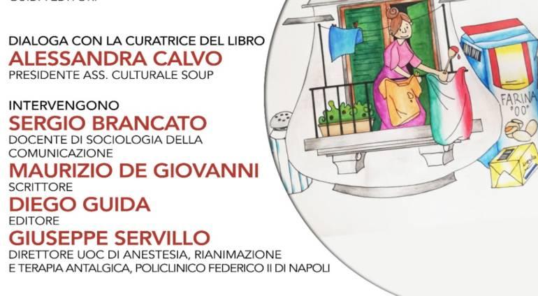 4 giugno Laterzagorà online presenta #iorestoacasa #acucinare. Più di cento ricette raccolte in lockdown. Ricavi per il Policlinico Federico II.